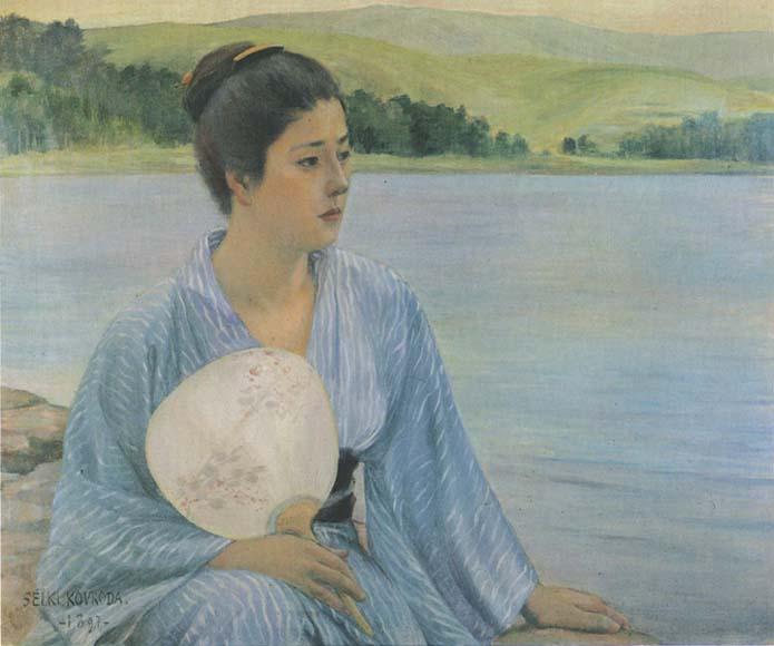 Al lado del lago (Lakeside) - Seiki Kuroda