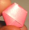 origami estrella - pentagono terminado