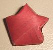 Origami estrella - presionar hacia adentro2