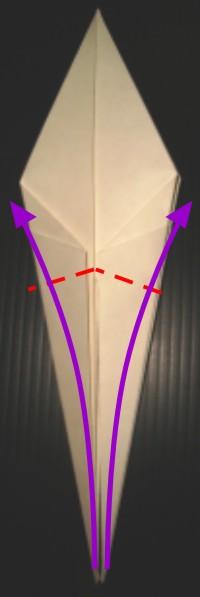 Arte del origami Grulla-en-origami-crane-paso14