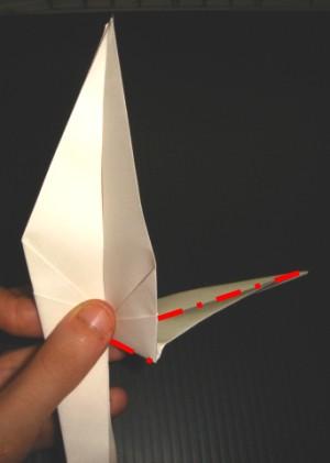 Arte del origami Grulla-en-origami-crane-paso16
