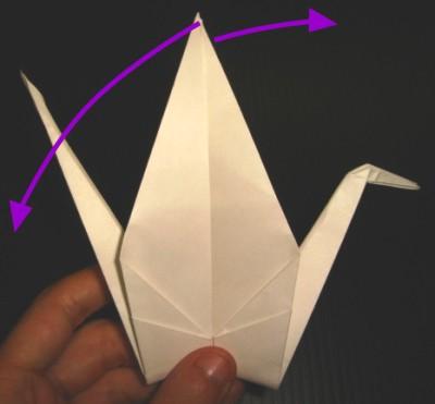 Arte del origami Grulla-en-origami-crane-paso20