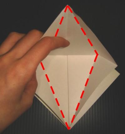 Arte del origami Grulla-en-origami-crane-paso9