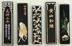 Barras de Sumi - tínta sólida china-japonesa