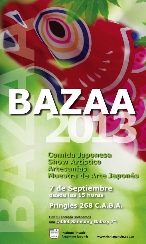 AFICHE-Bazaa2013opcion2web (1)